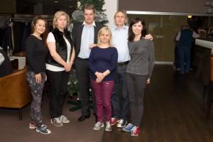 Hosté tradičního předvánočního přátelského setkání pracovníků OLTIS Group s obchodními partnery a přáteli v Bratislavě 2015.