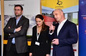 Mezinárodní konference Železnice III tisíciletí, pořádané společnostmi První Signální a OLTIS Polska