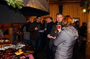 Slavnostní večeře na konferenci Železnice III tisíciletí v Ustroni