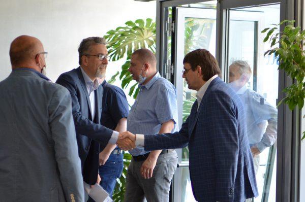 Návštěva zástupců města Olomouce v sídle OLTIS Group